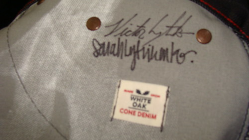 raleigh denim jeans signed by designers