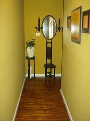 Finished Hallway (hughesinteriorsllc) Tags: texture painting paint exterior interior alabama september residential 2009 finishing texturing staining