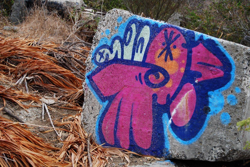 Graffiti Street Art East Bay Albany, CA.