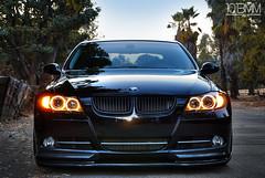Donny's BMW 335i Sedan (1013MM) Tags: auto black nature car nikon euro turbo bmw f28 2007 modded bimmer 1755mm d80 335i