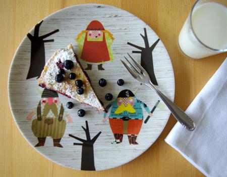 melamin viking plates by herzensart