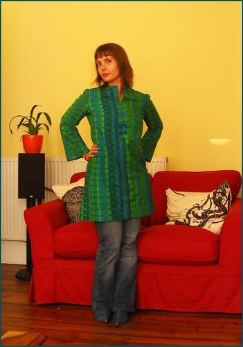 27.9.09: Handsewn 1960s dress