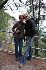 hike up Tunnel Mountain in Banff (iwona_kellie) Tags: trip friends alberta banff beata banffnationalpark tunnelmountain iwonakellie photobybeataaleksiejczuk
