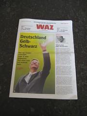 WAZ: Wahl-Spezial zur Bundestagswahl 2009