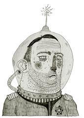 _ (pearpicker.) Tags: illustration drawing astronaut kosmonaut pearpicker