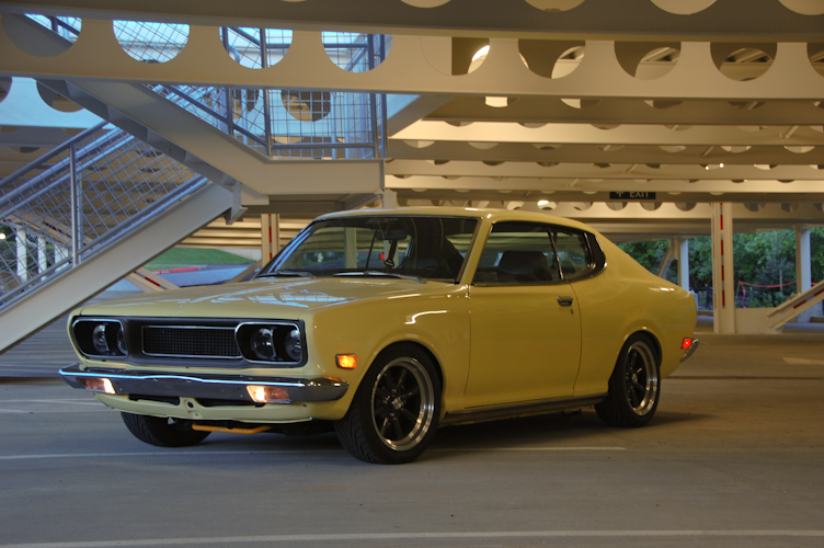 1974 datsun 610 coupe nasioc
