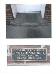 U.S. Mint Doorsill
