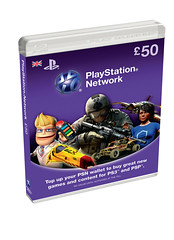 PSN Cards £50