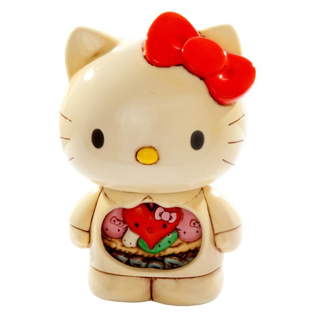 Hello Kitty Anatomy juguete