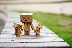 mom...哥哥都不等我! (sⓘndy°) Tags: sanfrancisco toy toys explore figure figurine frontpage sindy kaiyodo yotsuba danbo revoltech danboard flickrunitedaward
