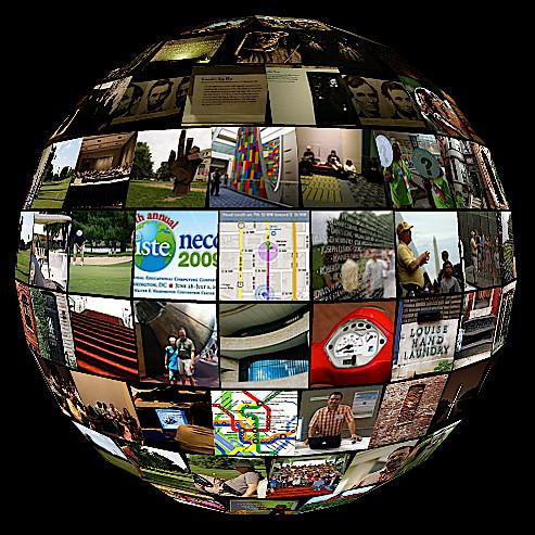 Flickr Collage NECC 09