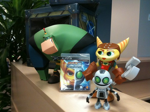 Ratchet & Clank Schwag for Insomniac Community Day