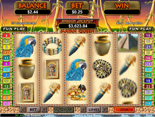 Mayan Queen slot game online review