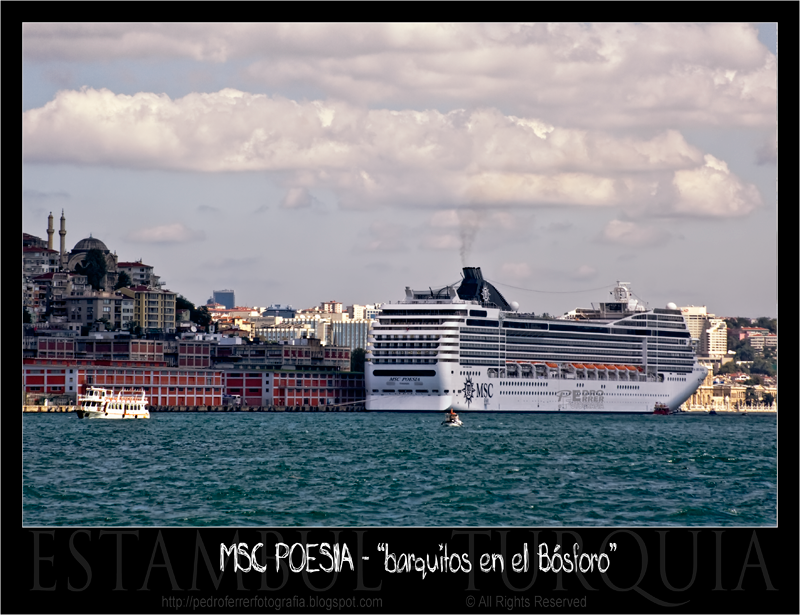 MSC Poesia en Estambul