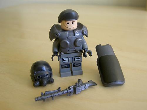 power  trooper custom minifig