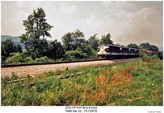 SOU FP7A 6138 & 4 more (Robert W. Thomson) Tags: railroad train diesel tennessee railway trains southern locomotive trainengine sr sou coveredwagon fp7 southernrailway emd funit wattsbar fouraxle fp7a wattsbarjunction