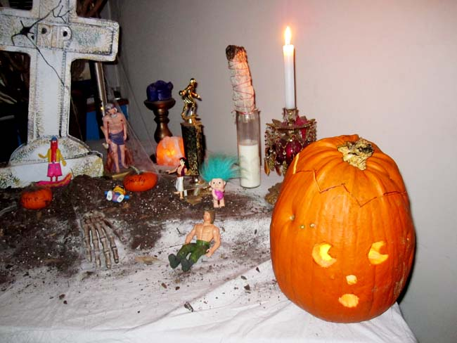 halloween arrangment 404