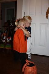 Halloween 09, goodbye hug