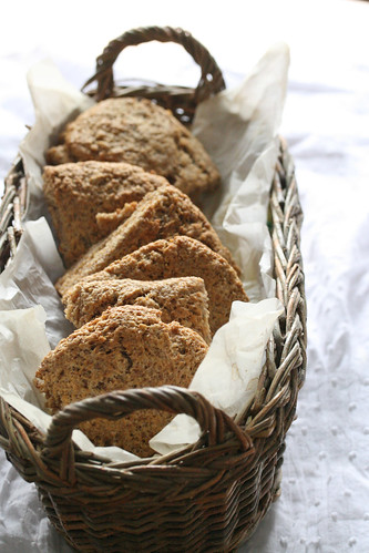 Buttermilk-Bulghur Scones
