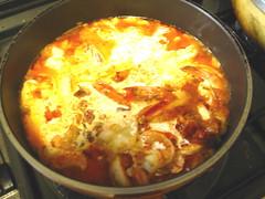 えびのトマトクリームソース煮