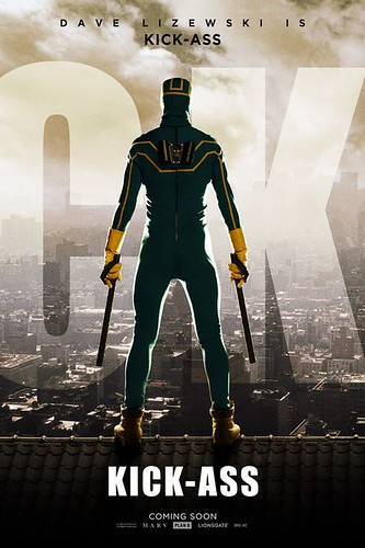Kick-Ass Movie Poster Aaron Johnson