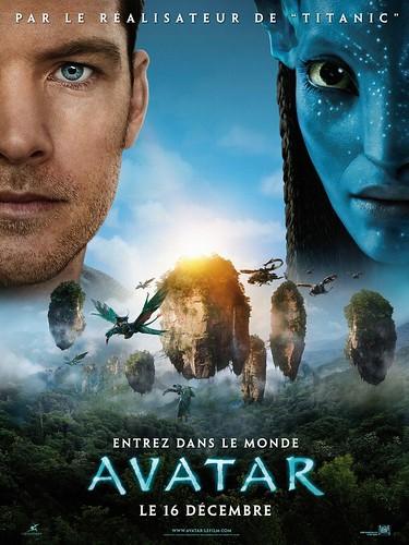 Póster Avatar James Cameron