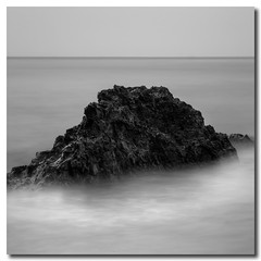 Nothing Lasts Forever (Sam Ilić) Tags: ocean light water rock clouds canon bay long exposure australia nsw hdr cokin batemans photomatix 450d cokinp153 canon24105mm4