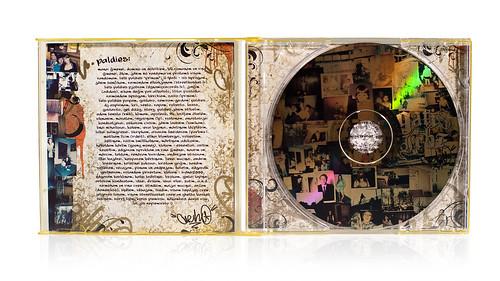 "Gacho - ""Gatis Irbe"" album cover"