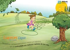 amarelinha (eduardowestin) Tags: feliz arvore menina infancia jogo amarelinha lupron