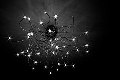 Stars. (docworld) Tags: life light bw moon stars shine darkness bright path silviaallegri
