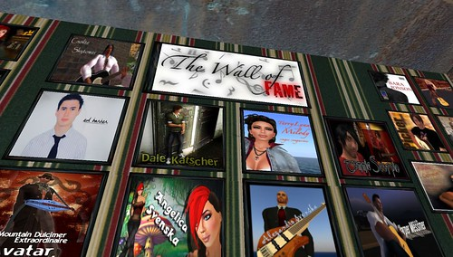 the wild rose live music artists in second life