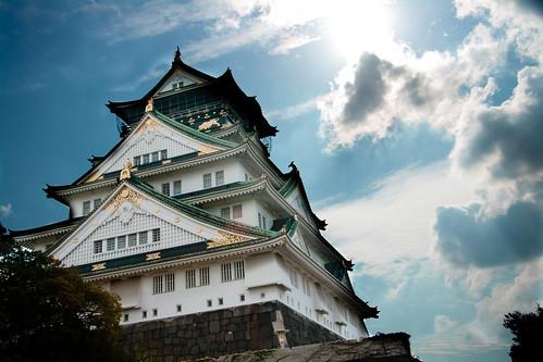 フリー写真素材|建築・建造物|宮殿・城|日本|大阪府|