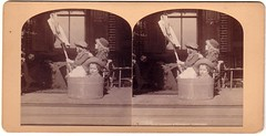 1880s STEREOVIEW PHOTO KIDS IN TUB BOAT (oldsailro) Tags: park old boy sea summer people sun lake playing beach water pool girl sunshine kids youth sailboat race vintage children fun toy boat miniature wooden pond model waves sailing ship child time yacht antique group boom mat tub stereoview regatta hull spectators watercraft adolescence keel fashioned