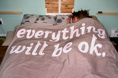 Everything will be okay comforter