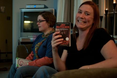 Jim Butcher book fan photo