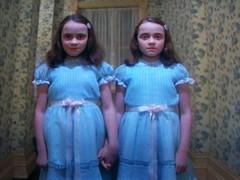 (rey de la tev italiana) Tags: 3 twins kubrick maggie shining chele