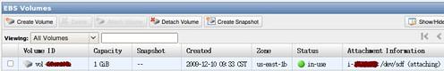 EC2 - EBS Linux 02 @ 20091210