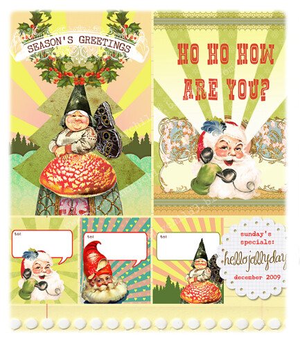 hellojollydays-card set