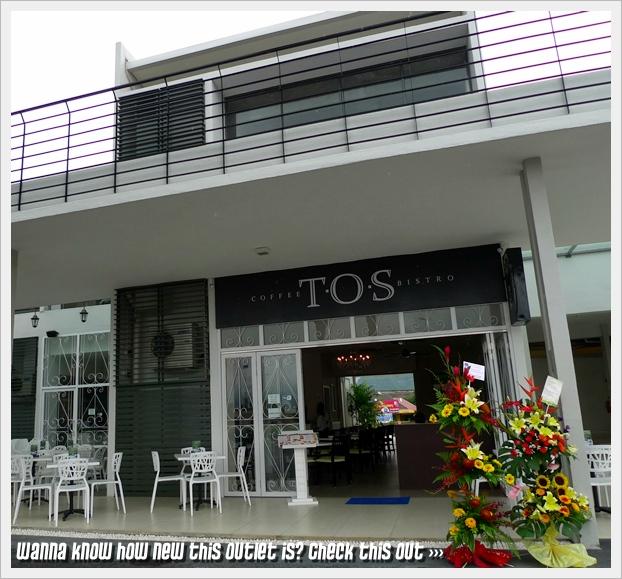 TOS Coffee Bistro Front Facade