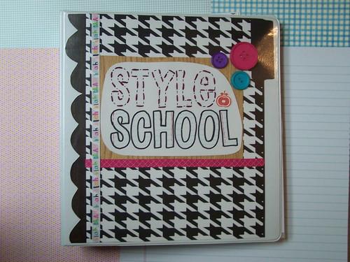 style school binder
