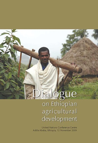Cover of 'Dialogue on Ethiopian Agricultural Development'