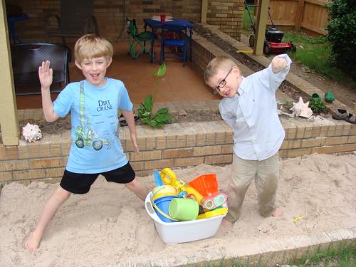 sandy kids by Jacks mom
