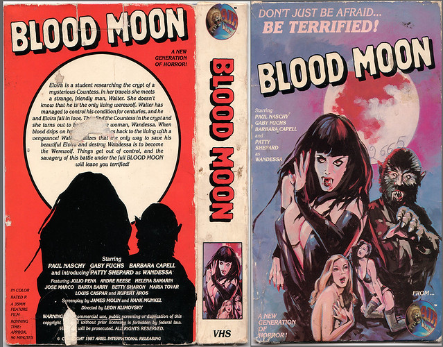 Blood Moon (VHS Box Art)