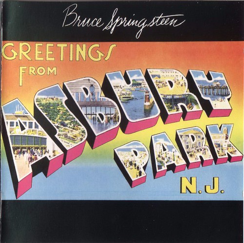 "Original art from Bruce Springstein's ""Greetings from Asbury Park N.J."""