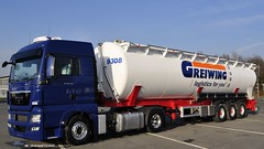 Greiwing  logistics for you  food MAN TGX 18-440 XLX (BonsaiTruck) Tags: man silo camion trucks bulk lorries lkw ffb citerne tgx greiwing