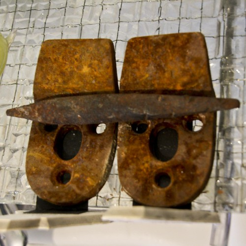iron men with hat
