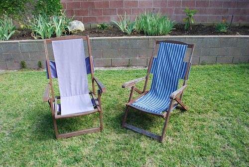 Deck Chairs Before & After by krakencrafts