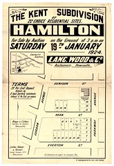 M1611 - The Kent Subdivision, Hamilton. Saturday 19th January, 1924. (Cultural Collections, University of Newcastle) Tags: newcastle hamilton plan australia nsw newsouthwales denisonstreet hunterregion landsales gordonavenue parkwayavenue evertonstreet subdivisionplans langwoodco lintonpalmerandturner northumberlandpermanentbuildinginvestmentlandandloansociety vedastreet brayecohensolicitors residentialsites thekentsubdivision
