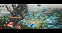 Mutual Consciousness (kimeu007) Tags: alien butterfly surreal fiction