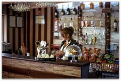 In a roadside cafe. (Ігор Кириловський) Tags: slr fujica stx1 xfujinon ebc 50mm f16 film kodak colorplus 200 ivfrankivsk ukraine roadside cafe starykryvotuly